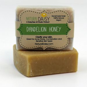 Handmade Dandelion Honey Soap