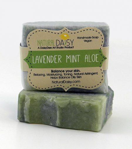 Handmade Lavender Mint Aloe